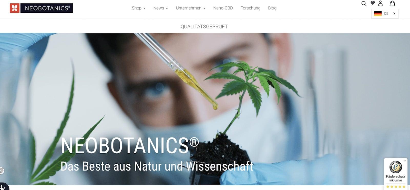 Neobotanics Rabattcode und Gutschein