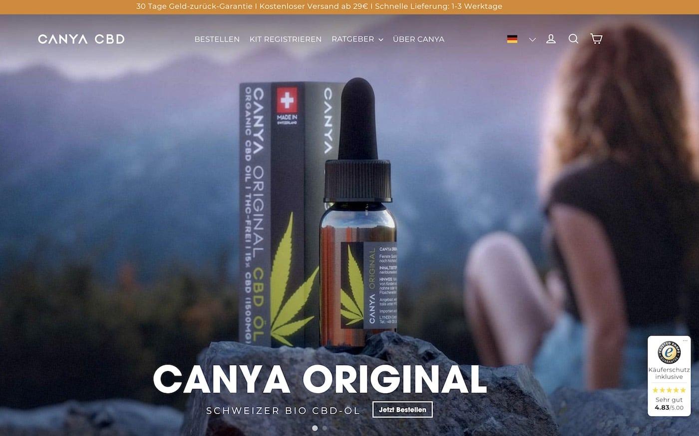 Canya Rabattcode und Gutschein