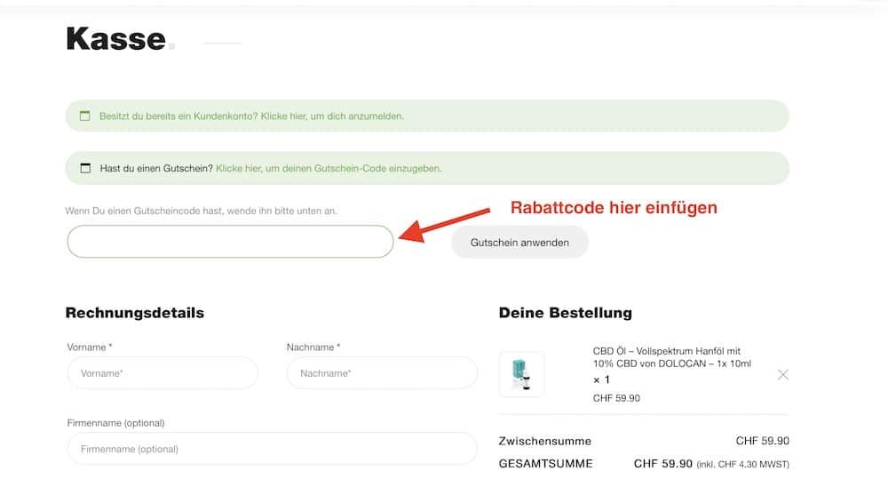 Green Passion Gutschein und Rabattcode einlösen
