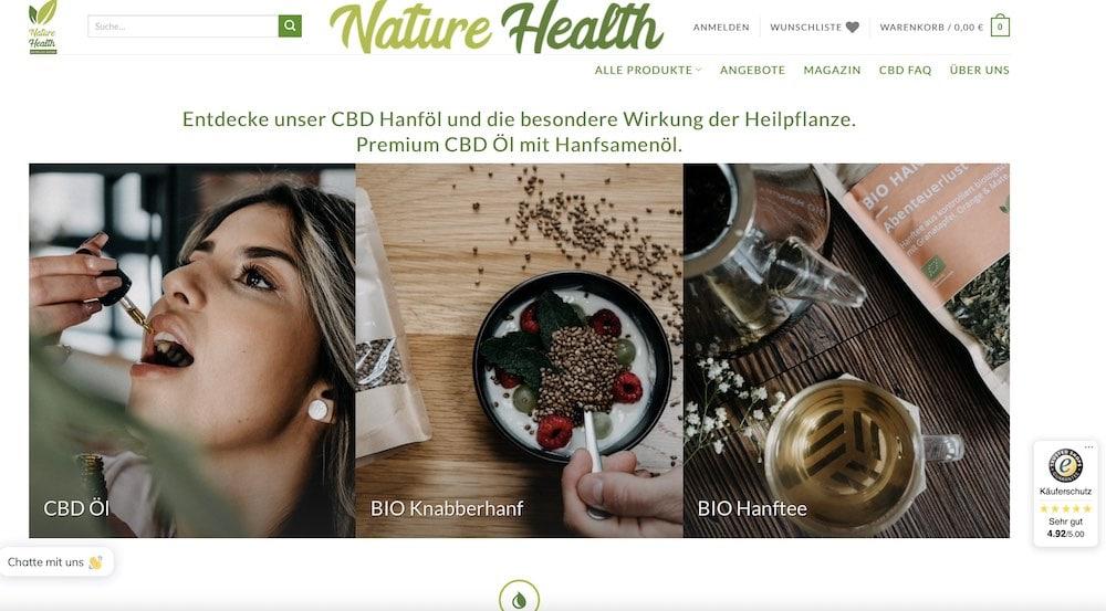 Nature Health Rabattcode und Gutschein