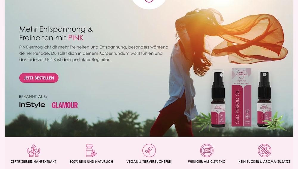 Pink Comfort Rabattcode und Gutschein
